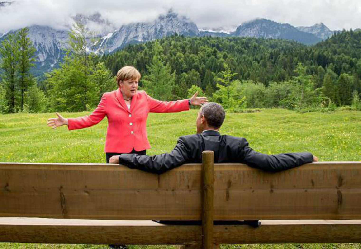 Obama al G7