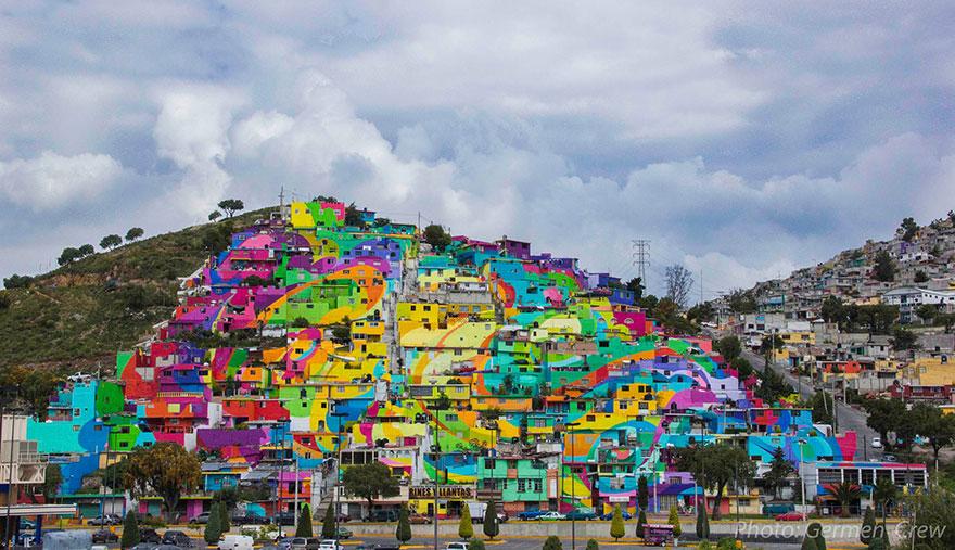 graffiti sulla città