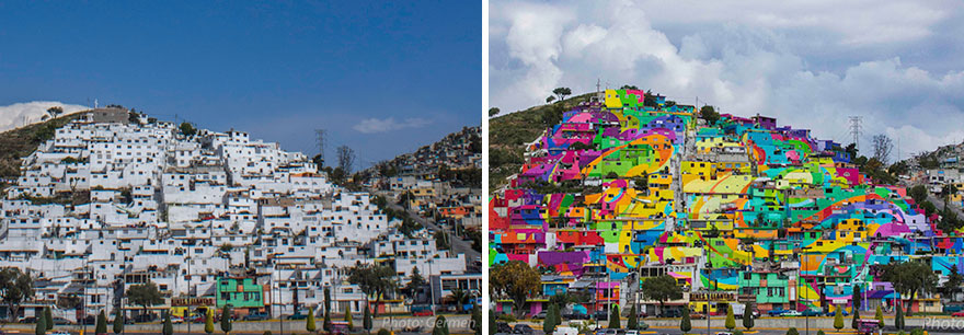 graffiti per riqualificare palmitas