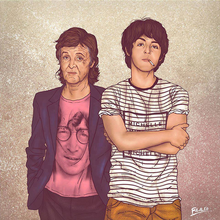 vecchio e nuovo paul mc cartney