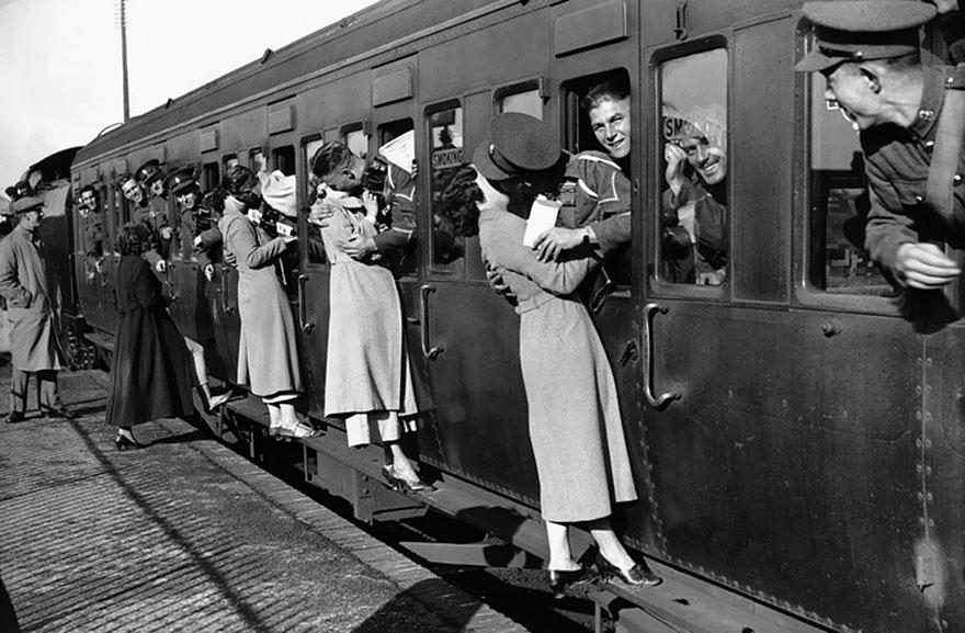 L'amore ai tempi della guerra (foto storiche)