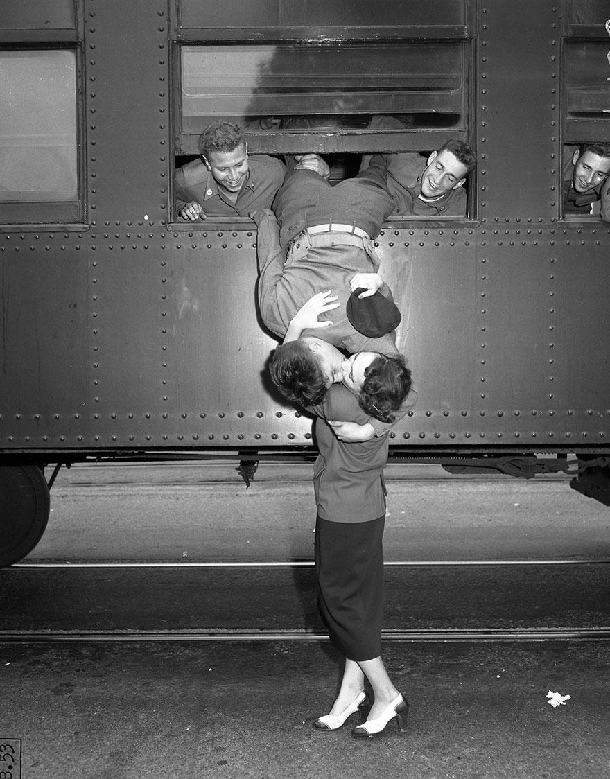 L'amore al tempo della guerra (foto storiche)