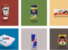 Il nostro incubo: le calorie! C'è chi ha pensato di rifare i loghi degli alimenti per sbatterci in faccia la cruda realtà!