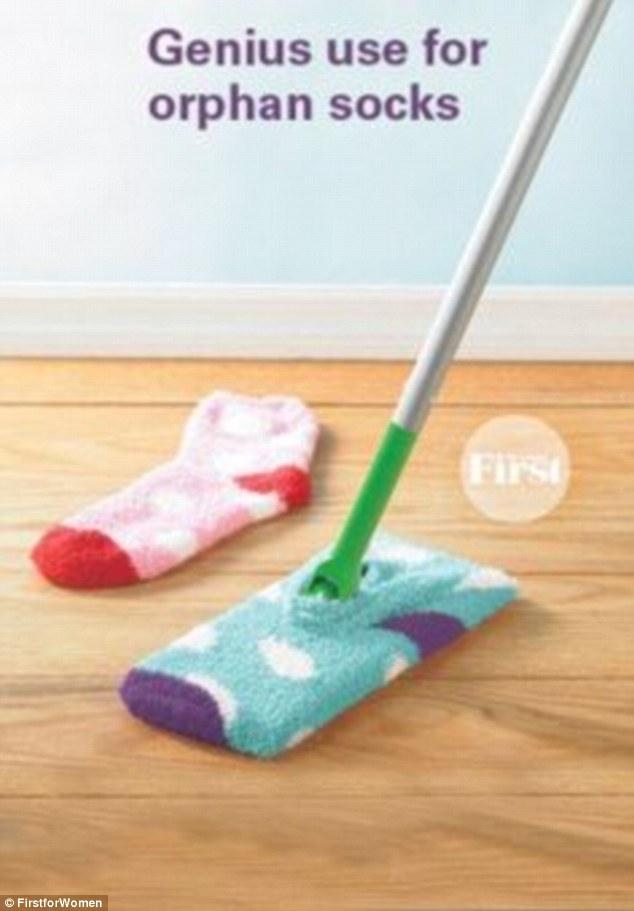 pulire con i calzini