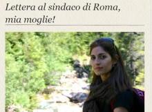 Lettera al sindaco di Roma, mia moglie!