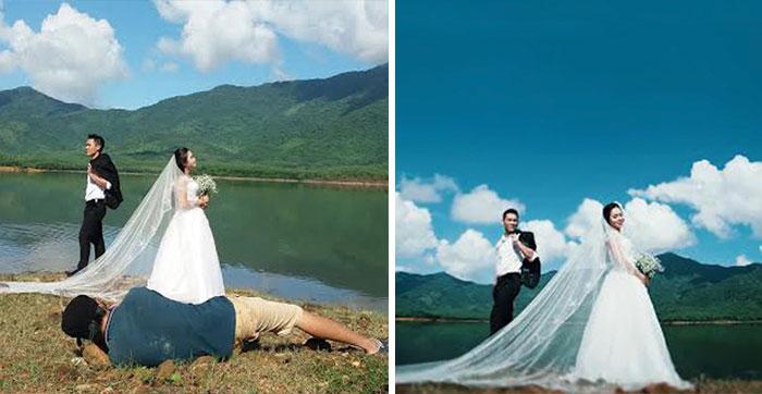 Queste immagini dimostrano che i fotografi dei matrimoni sono pazzi