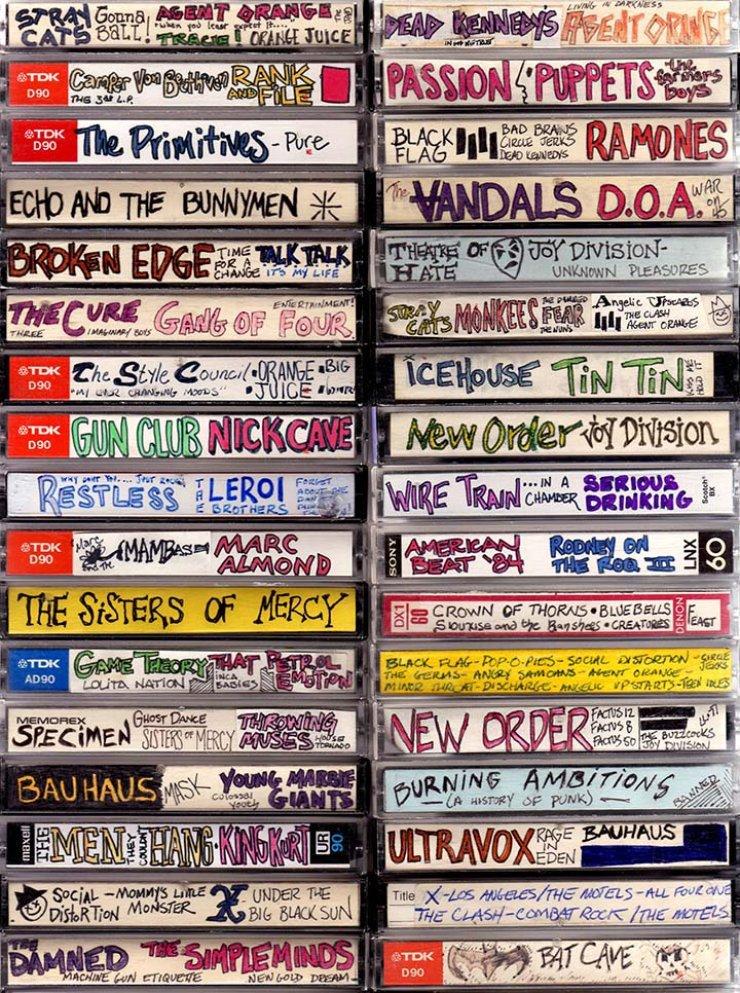L'arte perduta delle musicassette