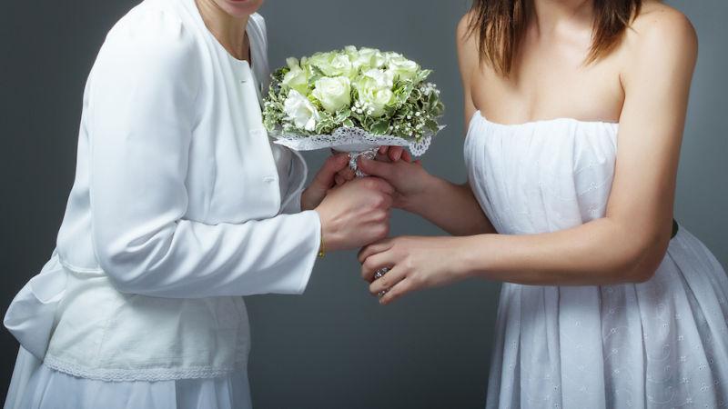 Le nozze di Isabel e Federica, due ex suore che si sono sposate