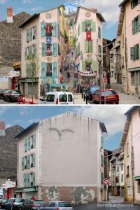 Street Art: prima e dopo. Come trasformare e rendere vivi spazi vuoti e inanimati!