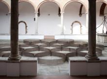 Habitat, le installazioni di Marco Milia nella chiesa di Sant'Agostino a Montalcino