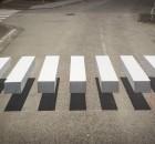 attraversare la strada su strisce 3d